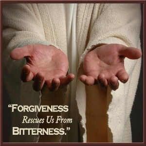 Forgiveness Rescues Us From Bitterness